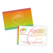 1000 Cartões de Visita Impressão + Laminação Frente e Verso