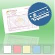2 Livros de Faturas Simplificadas A6 Triplicado (50x3)