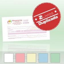 2 Livros de Recibos 1/12 Duplicado (50x2)
