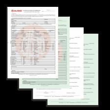 10 Livros de contrato de mediação imobiliária - 50 x 4