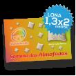 Lona Normal 1300x2000 mm C/ Ilhóses - Impressão Digital