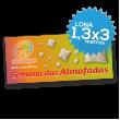 Lona Normal 1300x3000 mm C/ Ilhóses - Impressão Digital