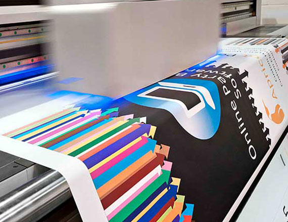 Impressão Digital de Pequeno e Grande Formato